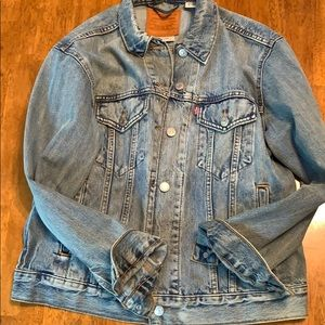 Denim Trucker Jacket Levi's for Anthropology